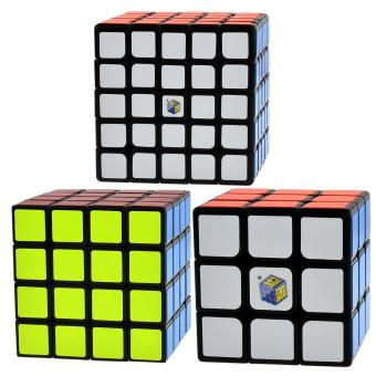 Harga LT365 Yuxin Zhisheng Fire Kylin 3x3x3 Magic Cube + Yuxin Zhisheng Lion 4x4x4 Magic Cube + Yuxin Zhisheng Purple Kylin 5x5x5 Magic Cube - intl