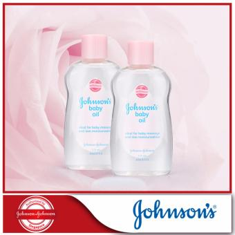 Harga Johnson's Baby Oil Regular 125ml x 2pcs