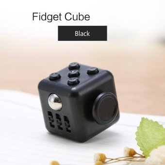 Mini Cube Anti Stress Finger Spinner Fidget Cube Relieve Stress Toys - intl