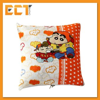Harga Crayon Shin-Chan 2 In 1 Cotton Pillow Blanket . Car Cushion Easyfor Tavel Use - intl