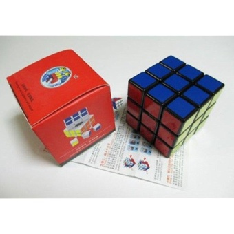 Harga Wind Series Brain Teaser Speed Cube Puzzle Black Shengshou 3x3x3 - intl