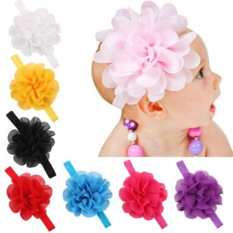 Harga Baby lily Bear Fashion 8pcs Baby Girls Sweeet Headbands Head Bands - intl
