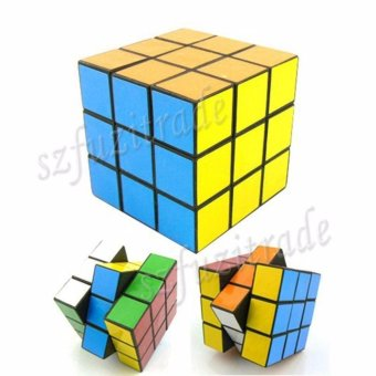 Magic Cube Smooth 3x3x3 Competition Speed Pro Rubix Rubics Puzzle - intl