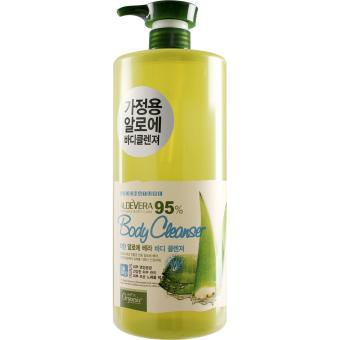 Harga White Organia 95% Aloe Vera Body Cleanser 1500ml