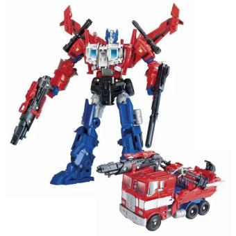 Harga Upgraded Version Optimus Prime Heavy Firepower Transformation Robots Action Figures Toys Gift JBX-711 - intl