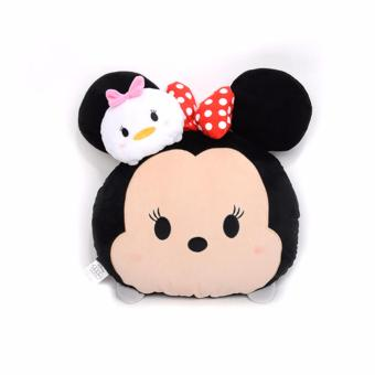 Harga Disney Tsum Tsum Plush Cushion Minnie & Daisy