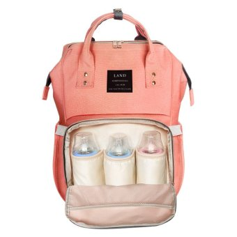 Harga Pregnant Backpack Bottle Diapers Pack Mama Pack Multifunctional Shoulder Bunny Large Capacity Backpack - intl