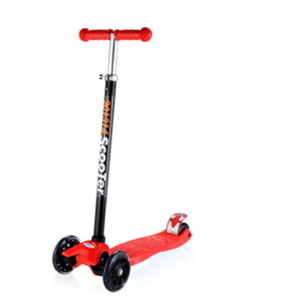 Harga CMAX Height Adjustable Kids Scooter with Flashing LED Wheels (Red)