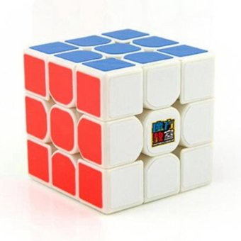 Harga MOON STORE MoYu Cubing Classroom MoFangJiaoShi MF3RS 3x3 Speed Magic Cube Puzzle Brain Teasers, White - intl