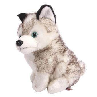 Harga Lovely Simulation Husky Dog Stuffed Animals Plush Toys Gifts 18cm
