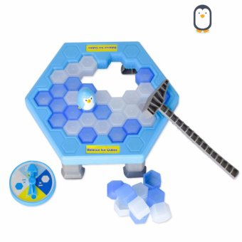 Ice Breaking Save The Penguin Great Family Kids Fun Game - intl