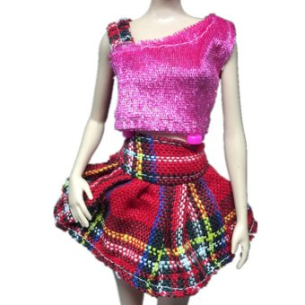 Harga Pop Barbie Doll Fashion Handmade Clothes Dress Different Style For Kids - intl