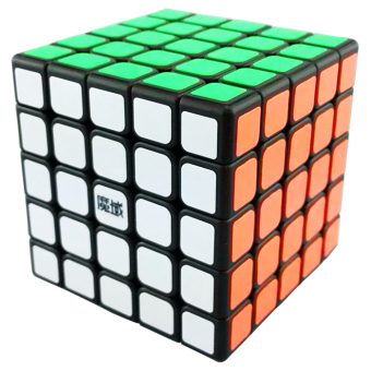 Harga MoYu 5x5x5 Aochuang Magic Cube Black (EXPORT)