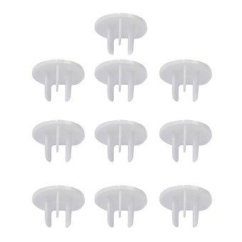 Harga CatWalk 25pcs Electric Outlet 3-Hole Socket Plug Cover Baby Kids Safety (White)