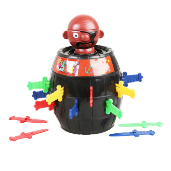 Harga Hequ Generic Pop Up Black Beard Pirate Barrel Lucky Stab Game Toy Color Random