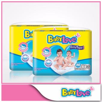 Harga BabyLove Easy Tape Mega Pack M 34pcs x 2 packs