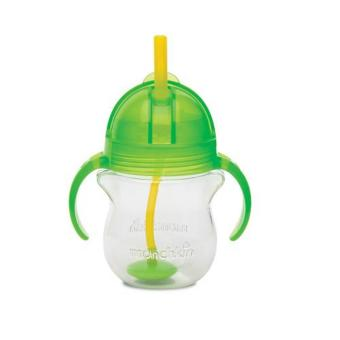 Harga Munchkin Click Lock Weighted Flexi Straw Cup 7oz, Green