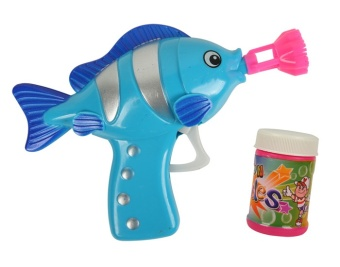 Harga Children bubble gun toys automatic blowing bubble machine tool large trumpet bubble water swimming dolphin animal toys