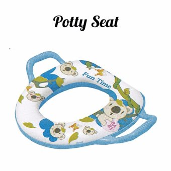 Harga BabyOne Baby Potty Seat(Blue)