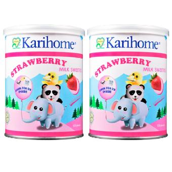 Karihome - Milk Sweeties Strawberry Flavour(Pink Strawberry)