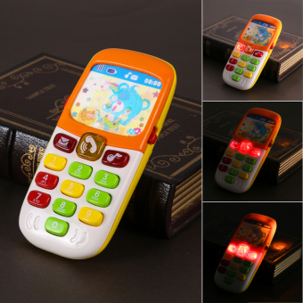 "Harga ""MEGA Electronic Toy Phone Kid Mobile Phone Cellphone"