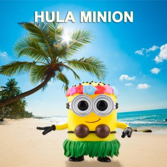 FUNKO POP Action Figure Vinyl Model Collection - Hula Minion - intl