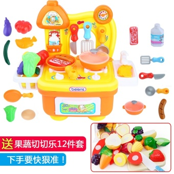 Harga Garfield over every family kitchen baby cooking kitchen toys cooking tools girl over every family kitchen set