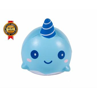 Harga iBloom Billie the Whale Super cute Squishy - Original from Squishy Japan