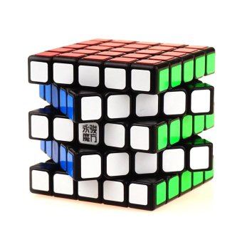Harga Professional 5x5x5 Rubik's Cube Puzzle Game Speed Magic Cube Gifts Educational Toys for Kids Children - intl