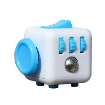 Original Fidget Cube Desk Toy Fidget Cube Anti Irritability Toy Magic Cobe Funny Kids Gift - intl