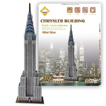 Harga Jigsaw 3D Puzzle Mini Chrysler Building Model For Kids EducationalToy(Export)