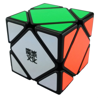 Harga 360WISH Moyu Skewb 60mm Magic Cube Black (EXPORT)