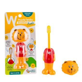Harga Pearlie White BrushCare Kids Toothbrush - Singa Lion