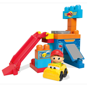 Harga MEGA BLOKS® First Builders™ Spinning Garage