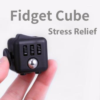 Fidget Cube - Stress Relief Focus 6-side Cube to Reduce Pressure