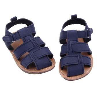 Baby Boys Sandals Toddler Scrub Shoes Navy