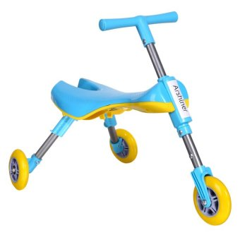 Harga Cyber Arshiner Foldable Outdoor Indoor Scooter Toddlers Glide Tricycle