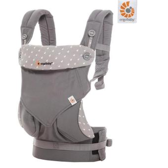 Harga Ergobaby Four Position 360 Baby Carrier - Dewy Grey(Grey)