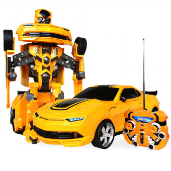 Harga Autobots Bumblebee Electric Remote Control Car Toys Car Remote Control Variations Car Kid Gift (orange) (EXPORT)