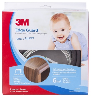 Harga 3M™ Child Safety - Edge Guard Brown - 2M Size