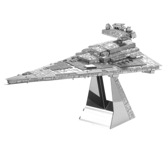 Harga Metal Earth 3D Kid DIY Miniature Model Building Puzzle Millennium Falcon Toy