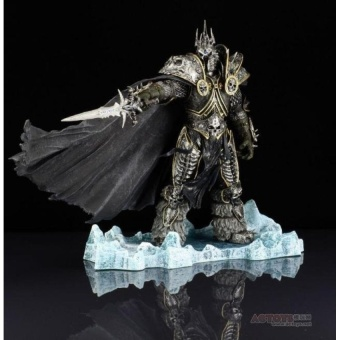 Harga WoW World of Warcraft: The Lich King Arthas Menethil Action FigureNew Toy Game Collections Figure Furnishings Decorations - intl