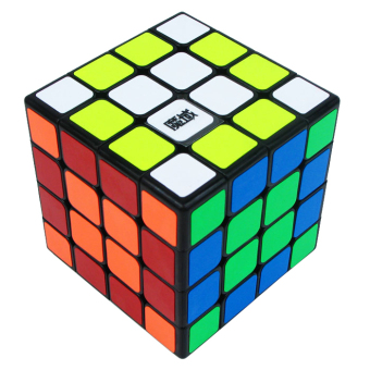 Harga MoYu 4x4x4 Mini 60.5mm Aosu Cube Puzzle Black (EXPORT)