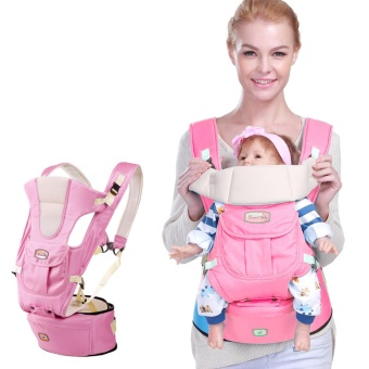 Harga BABY Carrier sling hipseat backpack Premium Double Lock Ergonomic Baby Carrier with Back - intl