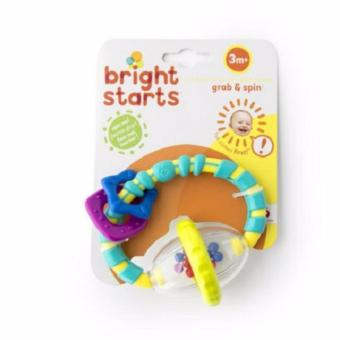 Harga Bright Starts Grab and Spin Rattle 3M+