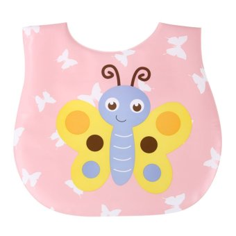 Harga Kids Baby Bibs Burp Cloths Lunch Bibs Bee Saliva Towel Waterproof Bibs