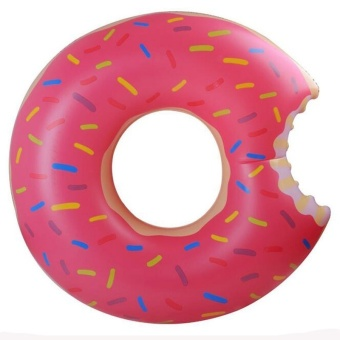 90CM Donut Float Inflatable Swimming Float Tube Raft Adult Kids Giant Pool Float Swim Ring Summer Water Fun Pool Toys