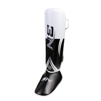 MagiDeal Shin Instep Pads MMA Leg Foot Guards Muay Thai Kick Boxing Guard White - intl