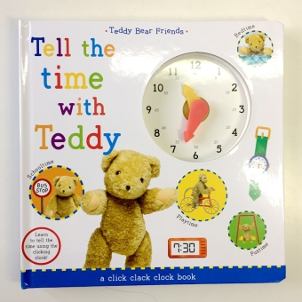 Kindergarten children's cognitive toys for your baby to know the time to learn to recognize the clock english enlightenment toy cardboard