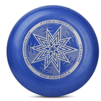 Harga 175G PE Ultimate Disc Frisbee Flying Disc Competition Star Pattern Deep Blue